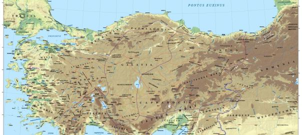 Asia Minor in the Second Century CE: A New Wall Map From the Ancient